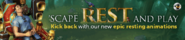 SGS rest animations lobby banner