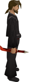 Dragon knife equipped