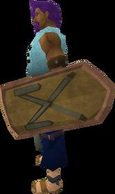 Profound decorative shield equipped