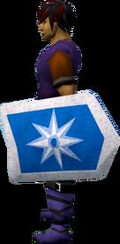 Rune kiteshield (Asgarnia) equipped