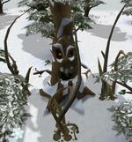 Evil holly tree