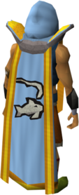 Retro fishing cape (t) equipped