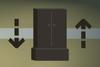 Shoe box (flatpack) detail