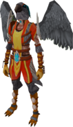 Aviansie Skyguard outfit equipped (female)