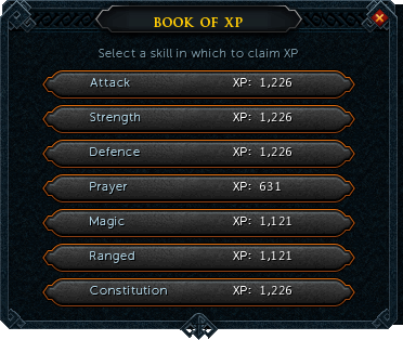 Dominion tower Xp book interface