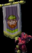 Banner carrier (leprechaun)