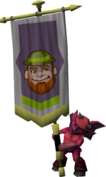 Banner carrier (leprechaun)