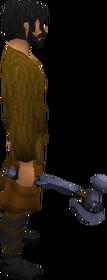 Mithril warhammer equipped