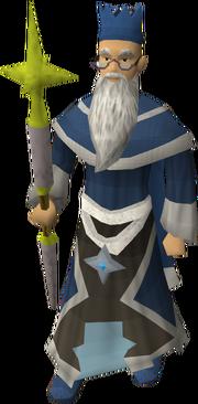 Wise Old Man (Saradomin staff)