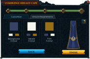 Herald cape colour selection