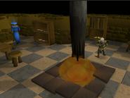 The pot explodes