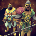 Apep and Heru icon
