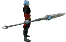 Augmented sunspear (magic) equipped