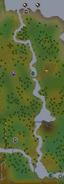 East Karamja river map