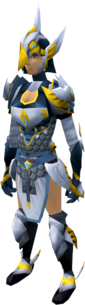 Armadyl armour set equipped (female)