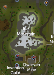 Ice Mountain map