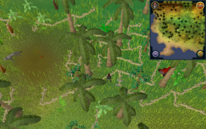 Scan clue Kharazi Jungle south-west corner of jungle