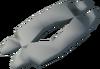 Polished baby blue dragon bone detail
