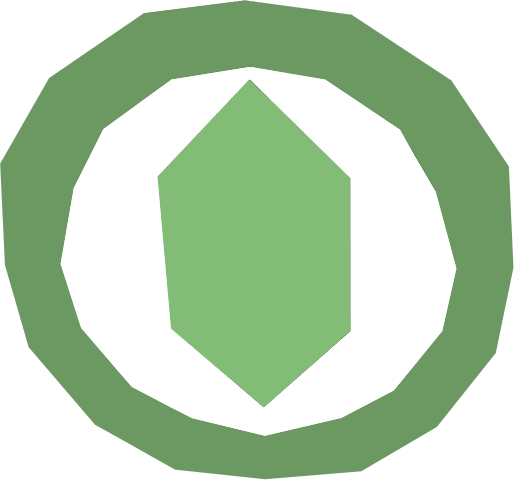 File:Green Gemstone logo.png