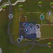 Dairy churn (Falador farm) location
