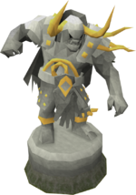 Expert Bandos statue