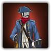 Colonist's outfit icon (male)