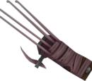 Off-hand ripper claw