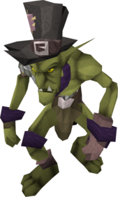 Purple goblin mail equipped