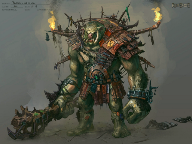 File:Early Bandos concept art.png
