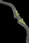 Seeping elm longbow (u) detail