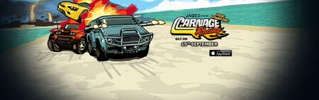 Carnage Racing banner