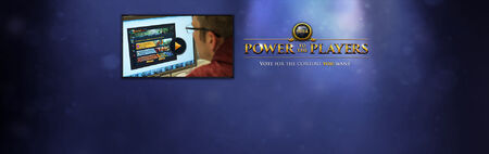 Power to the Players banner