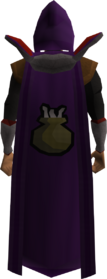 Retro cooking cape equipped