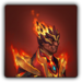 Flameheart armour icon (male)