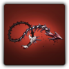 Brutal whip icon
