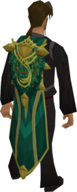 Cloak of Spring equipped