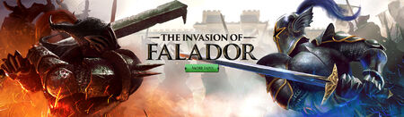 Invasion of Falador head banner