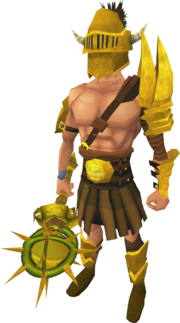 Golden Verac the Defiled's equipment (male) equipped
