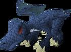 Hatchling dragon (blue) pet old