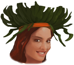Sizzling Summer Tropical Headdress thumb