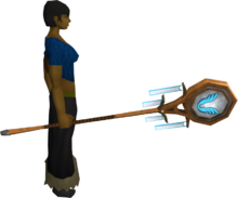 Banner of Armadyl (tier 2) equipped
