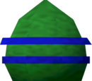 Chocolate egg (green)