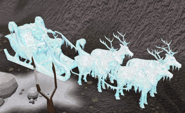 File:Frozen Santa and Sleigh.png