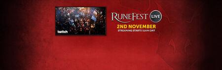 RuneFest Live banner