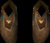 Golden warpriest of Armadyl boots detail