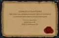Earth Warrior Champion reward.png