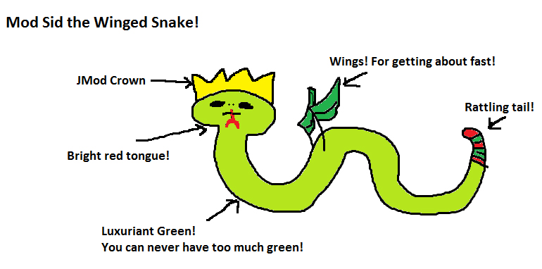 Mod Sid the Winged Snake update image