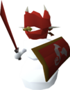 Dragon snowman