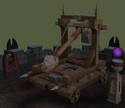 Zamorakian catapult