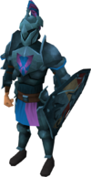 Rune heraldic armour set 2 (lg) equipped.png